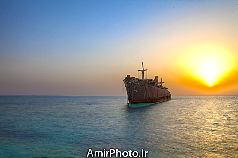 Greek Ship (hdr)